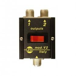 Zetagi V2 Conmutador antena...